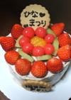 くだもの盛り盛りチョコデコケーキ☆