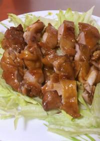 フライパンで鶏の照り焼き♥