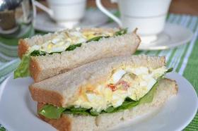 アメリカン卵サンドイッチ