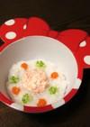 離乳食☆おひさまベジ豆腐粥