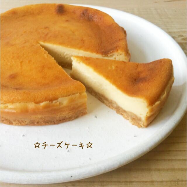 チーズ ケーキ 簡単