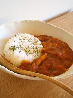 我が家の定番☆トマト缶で作るカレー