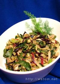 いろいろなイタリア野菜の蒸し煮