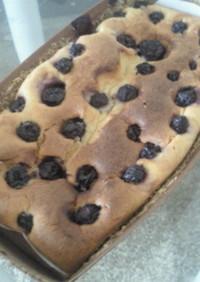 クリチとブルーベリーパウンドケーキ