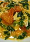 トマト&ニラの卵とじ