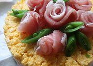 お祝いの日に、ケーキ寿司♪