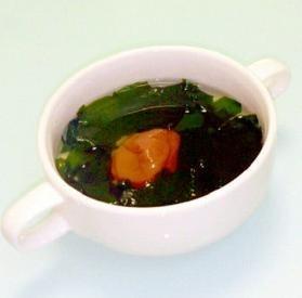 梅干しとワカメのスープ☆超簡単♪