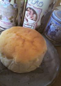 クリームチーズ50gのスフレチーズケーキ