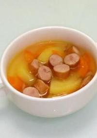 ウインナーがおいしい♪ポトフ風スープ