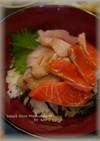 簡単たれで♪海鮮丼!