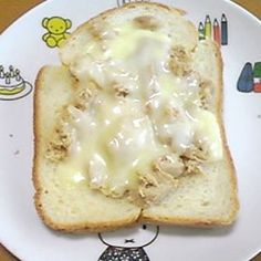 フライパンで作るチーズトースト☆