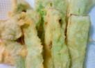 ブロッコリーの茎の天ぷら
