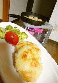 ストーブで作る焼きコロッケ