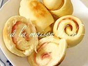 薄力粉で作るベーコンのパン〜フライパン編の写真