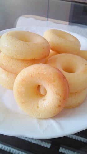 ケーキ屋さん風★しっとり本格焼きドーナツ