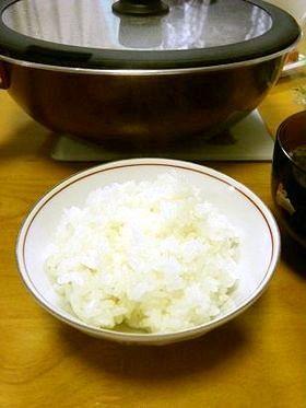 ★加熱時間5分弱お鍋でごはんを炊く方法