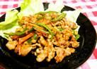 味噌ダレde豚肉と野菜の彩り炒め