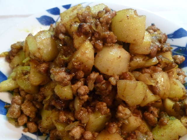 ひき肉 カレー 粉