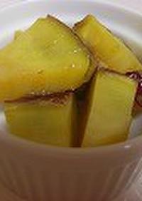 さつま芋のアセロラジュース煮