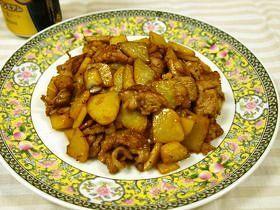 お箸が止まらない☆豚とジャガイモ中華炒め