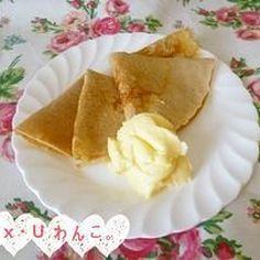 ♡基本のクレープ生地〜全粒粉100%〜♡
