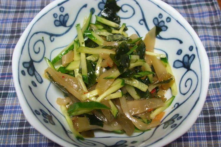 ザーサイ きゅうり きゅうりとザーサイのあえもの by野口真紀さんの料理レシピ