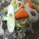 牛肉スープ♪ちょっと韓国風♪