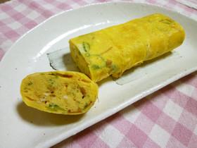 ✿ごま油香る✿なめ茸入り卵焼き