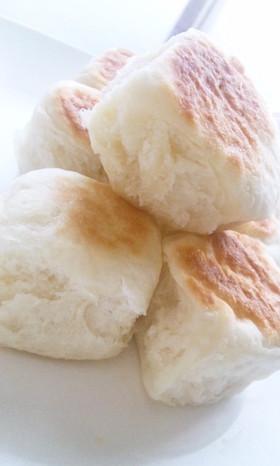 *フライパンde簡単即席パン~手ごね*