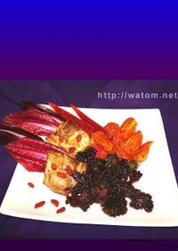 赤い野菜のイタリアン前菜Ⅱ