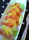 生ハムとグレープフルーツのビタミンサラダ