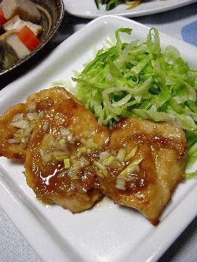 鶏胸肉の甘酢煮。