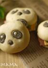 パンミックスを使って簡単パンダパン作り方