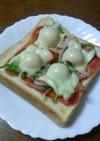 ◆私の家のピザトースト