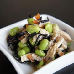 枝豆ひじきのサラダ〰生姜ドレ♪