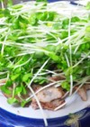 豚肉の塩焼きニンニク風味