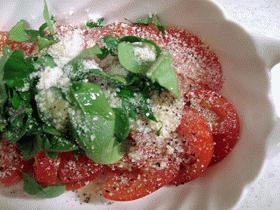 イタリアンなトマトサラダ