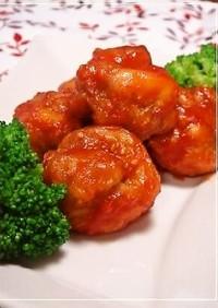赤い鶏から✿1日分の野菜和え