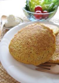 ベジオーツパンケーキ