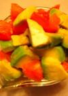 アボカドとトマトの簡単サラダ☆