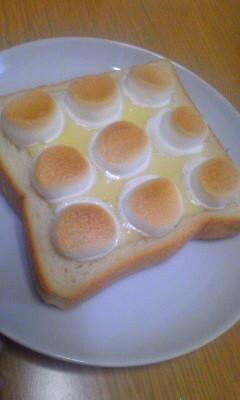 塩マシュマロトースト