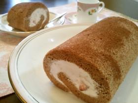 ホットケーキMIXで楽うま♪ロールケーキ