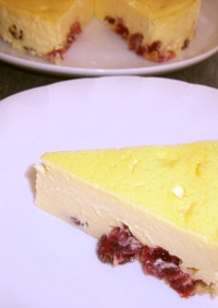 Wベリーの濃厚チーズケーキ☆