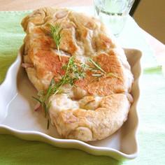 フライパンで焼くハーブパン
