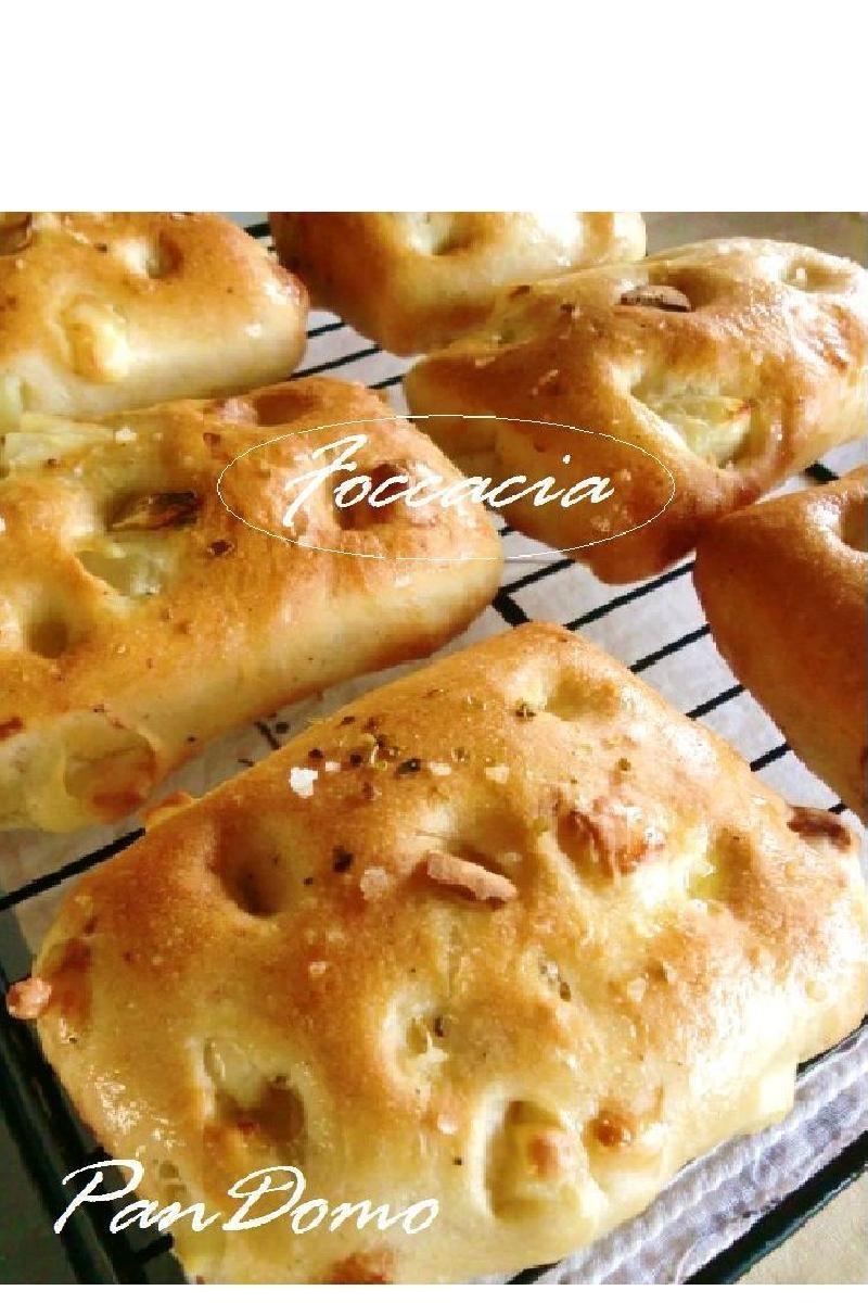 チーズ&ポテトのミニフォカッチャ