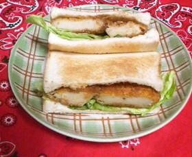 お惣菜コロッケで簡単☆サンドイッチ☆