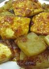 韓国風*ヘルシー豆腐こんにゃくステーキ