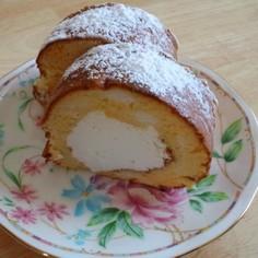 簡単♪みみちゃんのロールケーキ♪