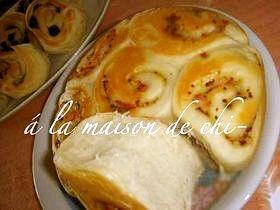 フライパン&炊飯器☆基本生地のおかずパン