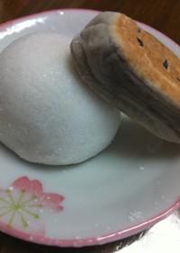 アイス饅頭風♪